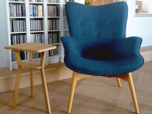 Bijzet.1 met stoel bij klant
